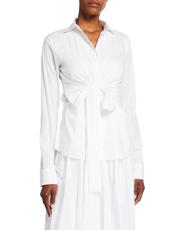 Amber Collared Wrap Shirt