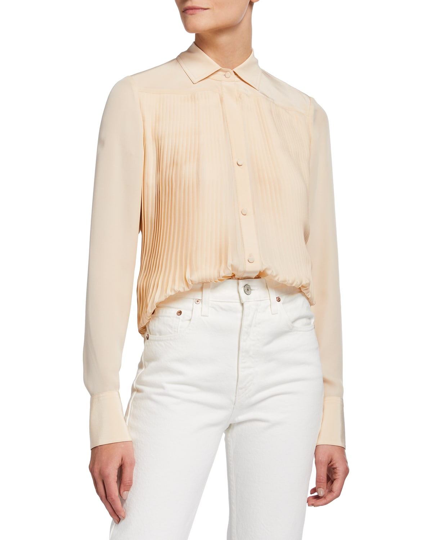 Jules Pleated Shirt