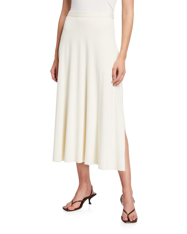 Kinsley High-Waist Jersey Skirt