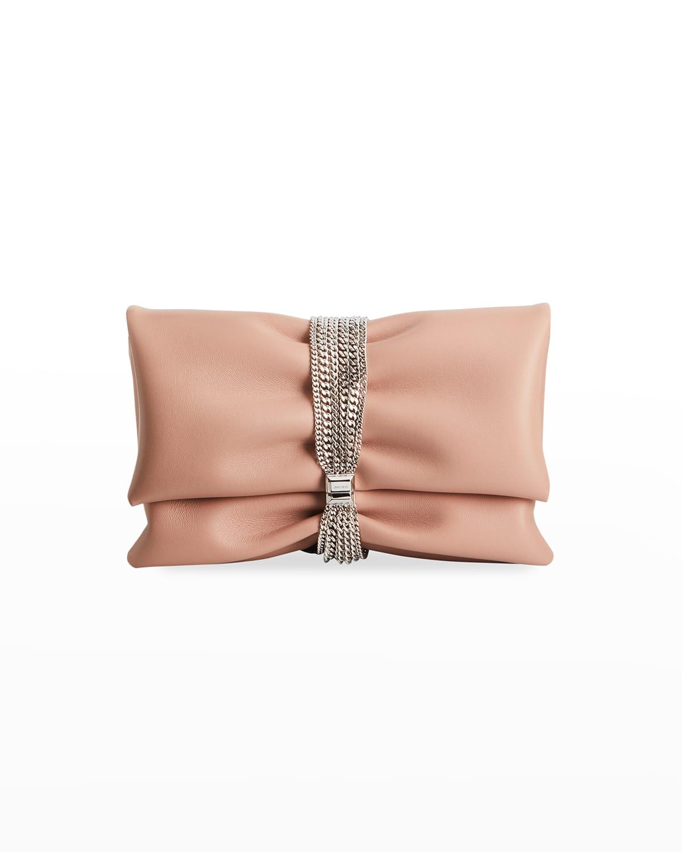 Daisy Multi-Chain Napa Clutch Bag