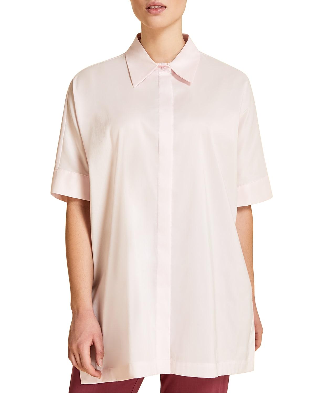 Plus Size Filosofo Button-Down Shirt