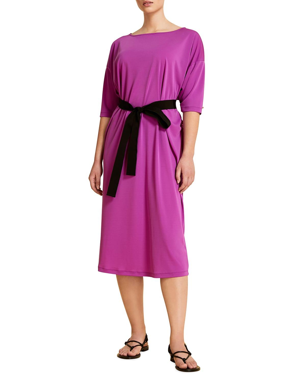 Plus Size Olivetta Jersey Midi Dress