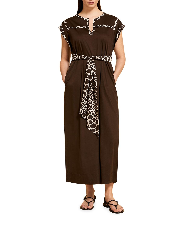 Omero Cotton/Viscose Kimono Dress