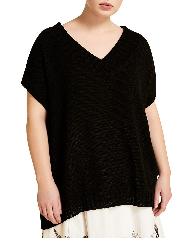Plus Size Alamaro V-Neck Sweater