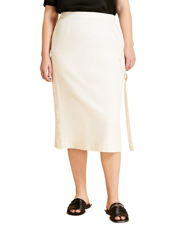 Plus Size Carbone Pencil Skirt
