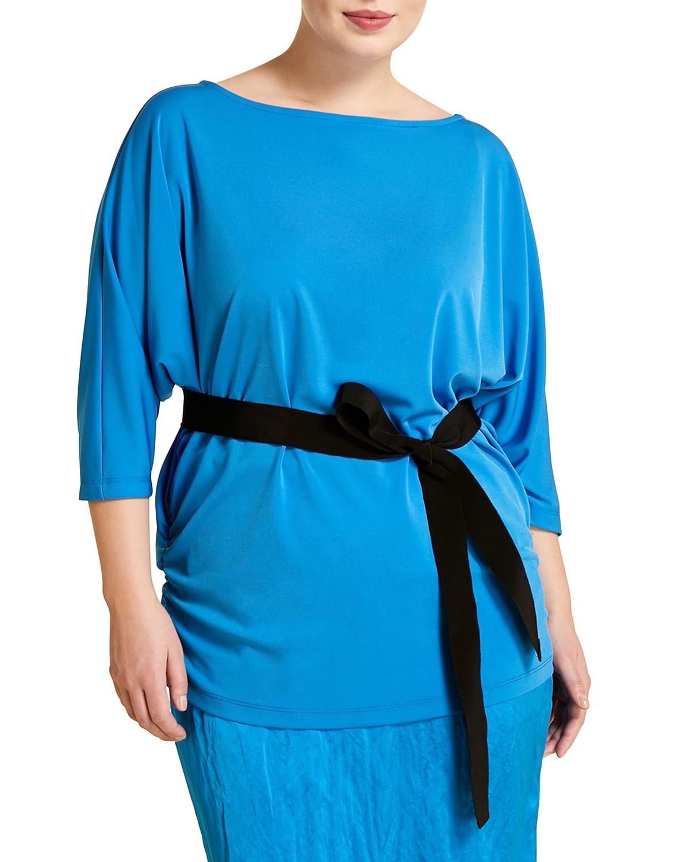 Plus Size Valico 3/4-Sleeve Jersey T-Shirt