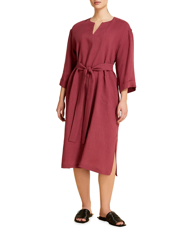 Doriana Linen Caftan Dress