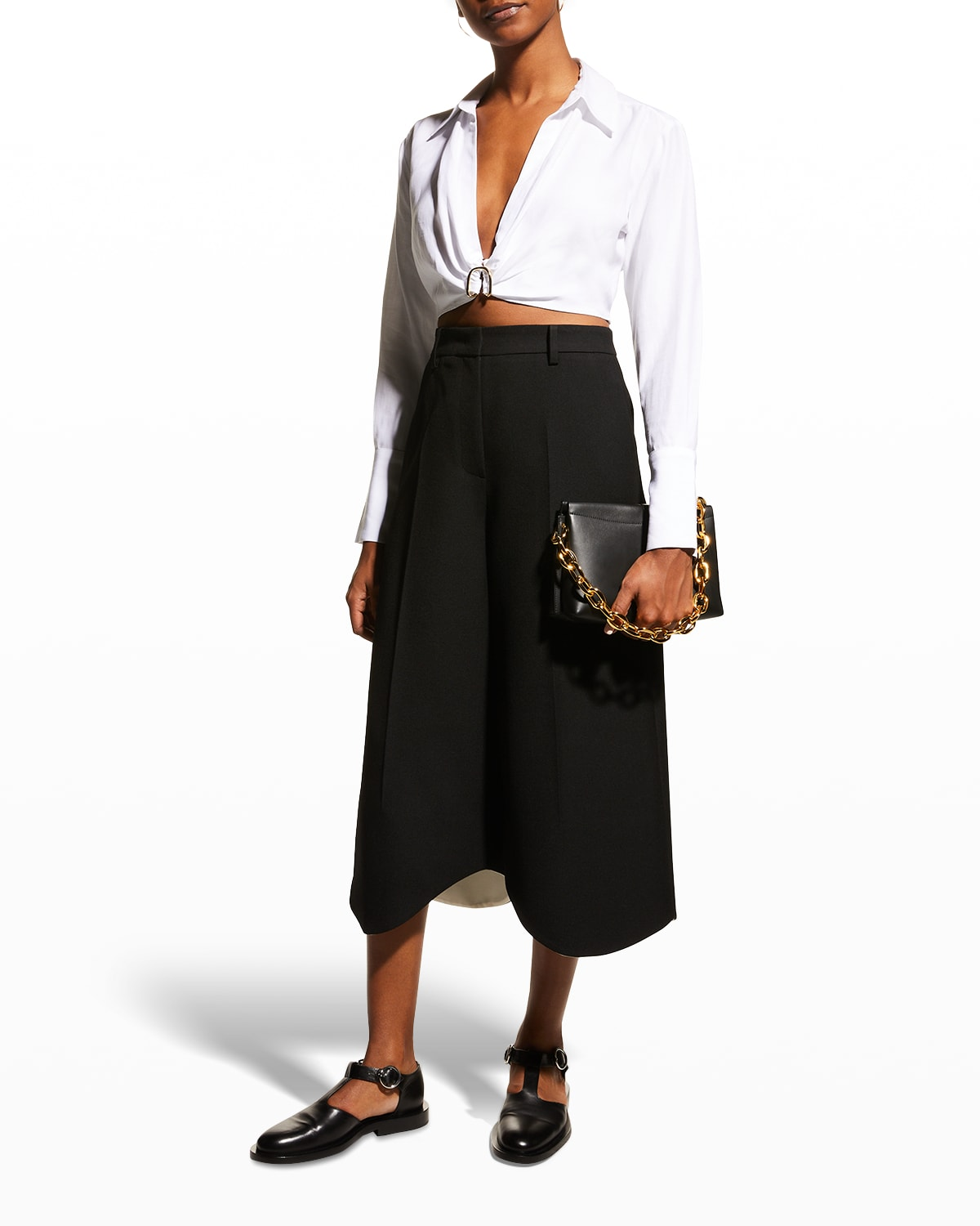 Thebes Cropped Shirt