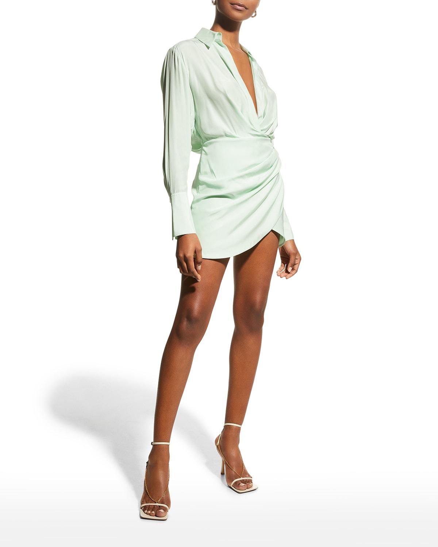 Naha Silk Short Dress