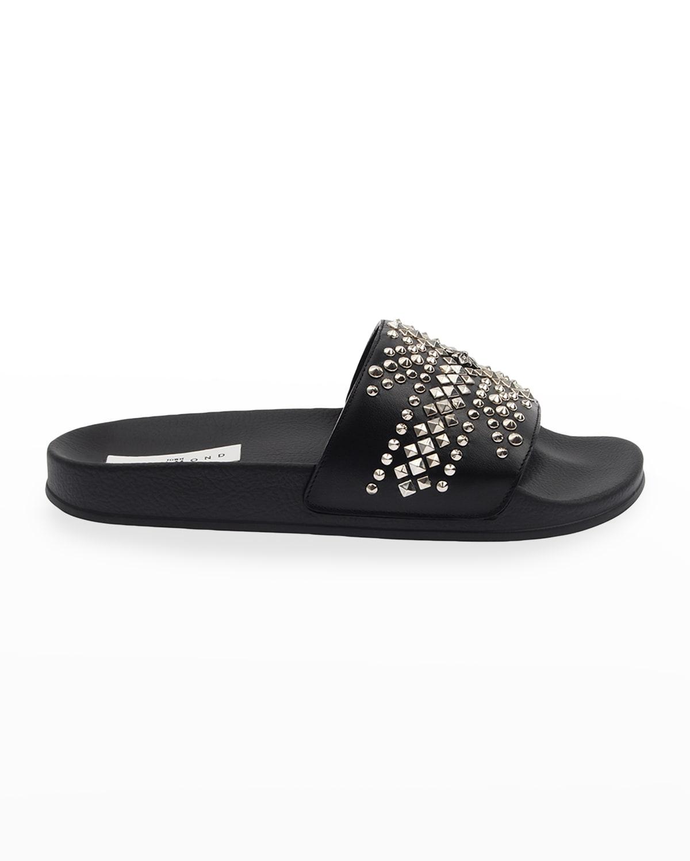 Men's Studded Pool Slide Sandals