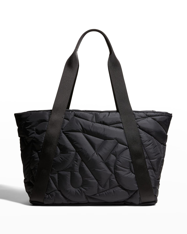 Alexa Medium Quilted Nylon Tote Bag