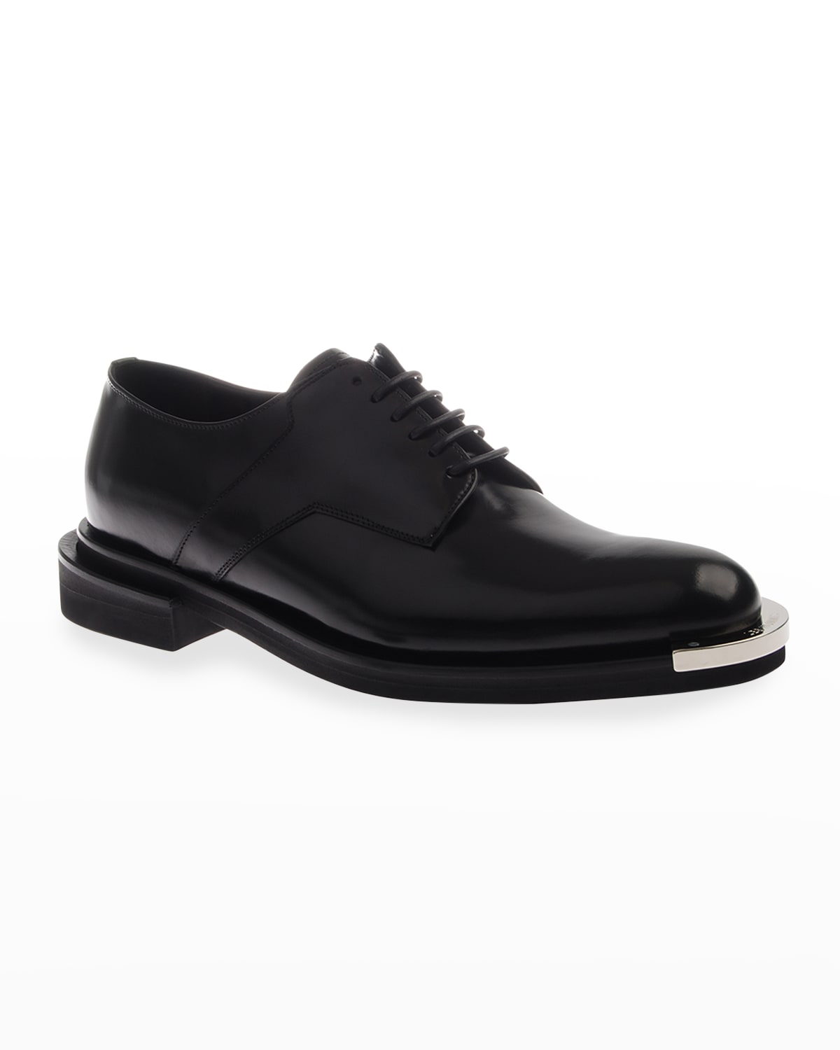 Men's Metal-Tip Leather Loafers