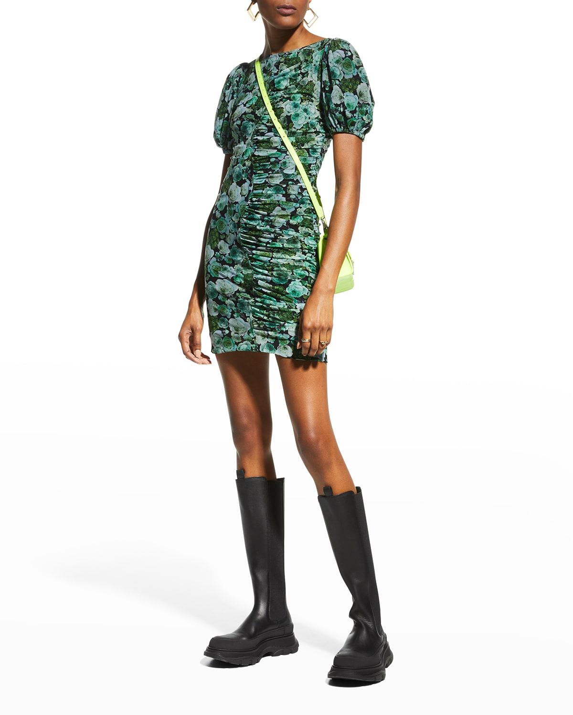 Floral Mini Bodycon Dress