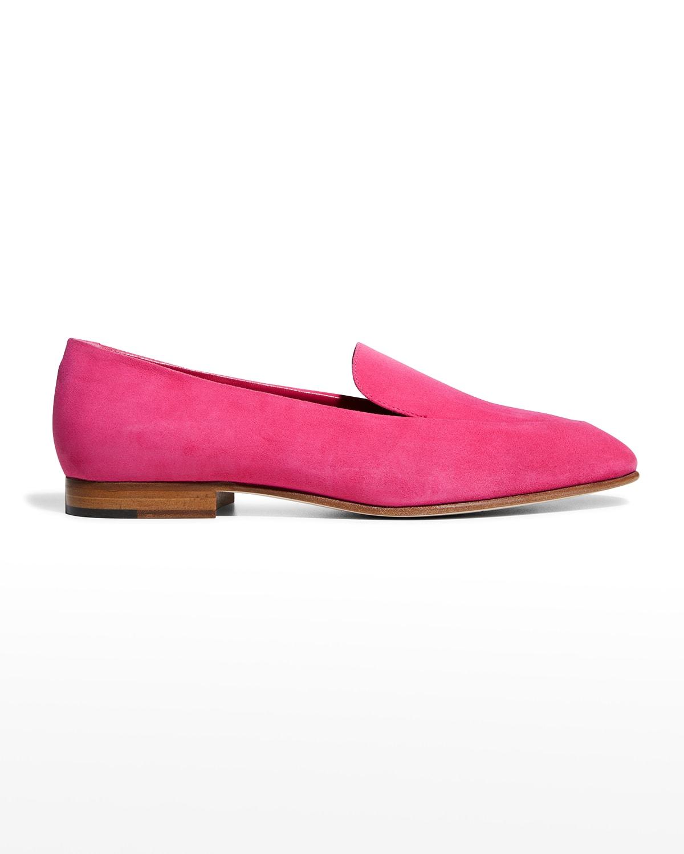 Pitaka Suede Flat Loafers