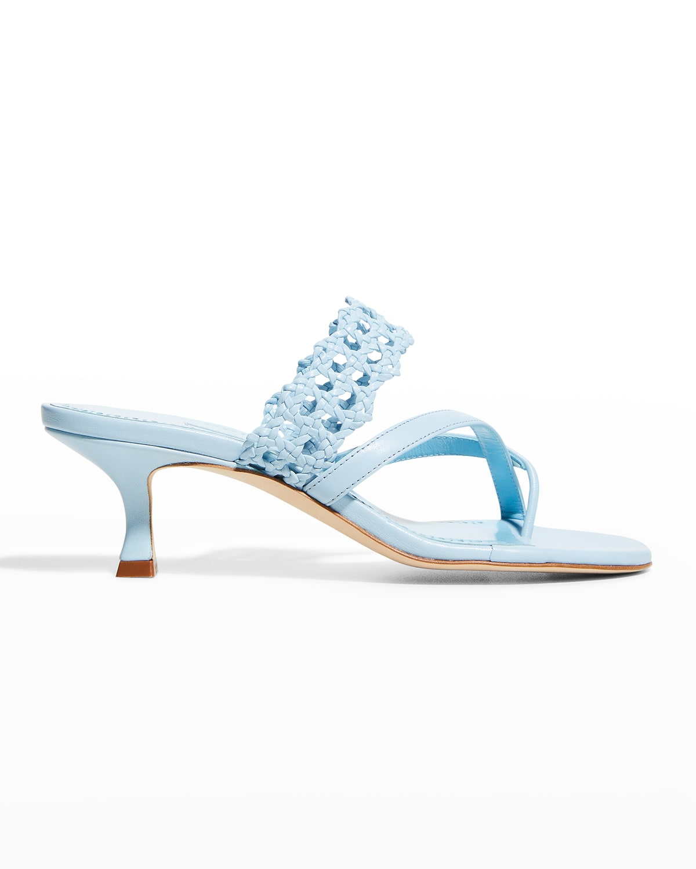 Susa Strappy Leather Slide Sandals