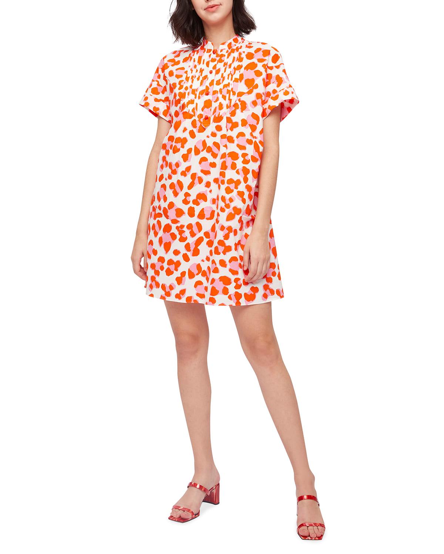 Fiona Mini A-Line Poplin Dress