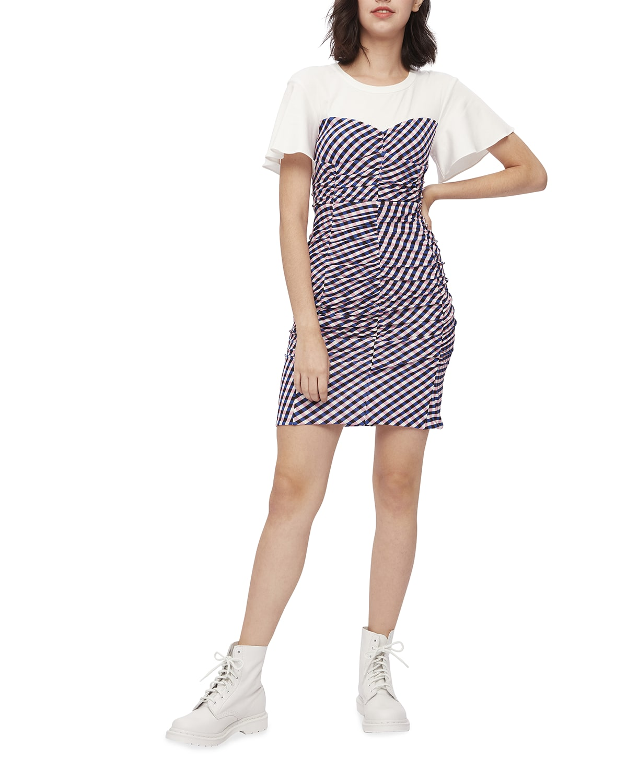 Annalise Mini Gingham Dress