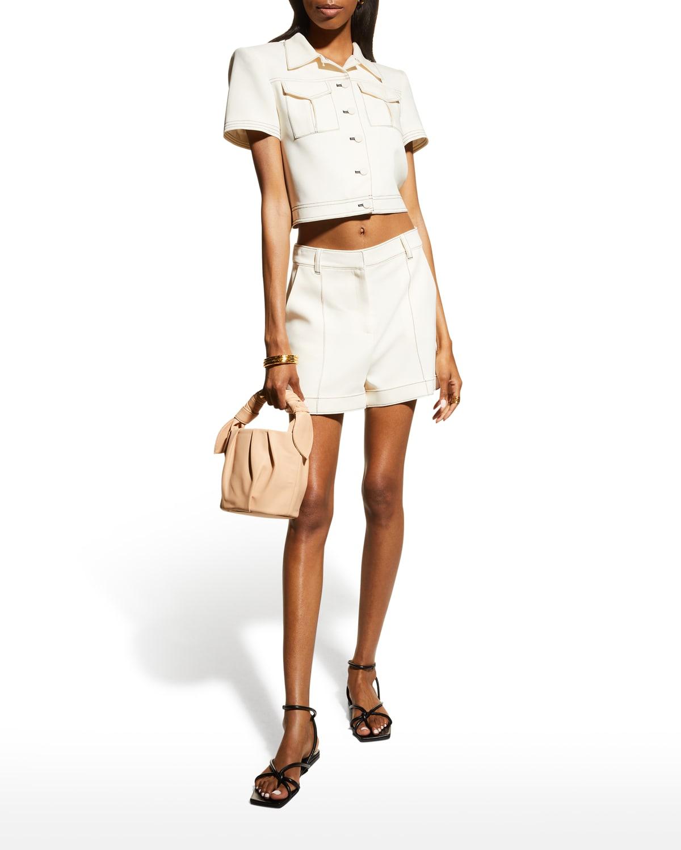 Galena Crepe Shorts