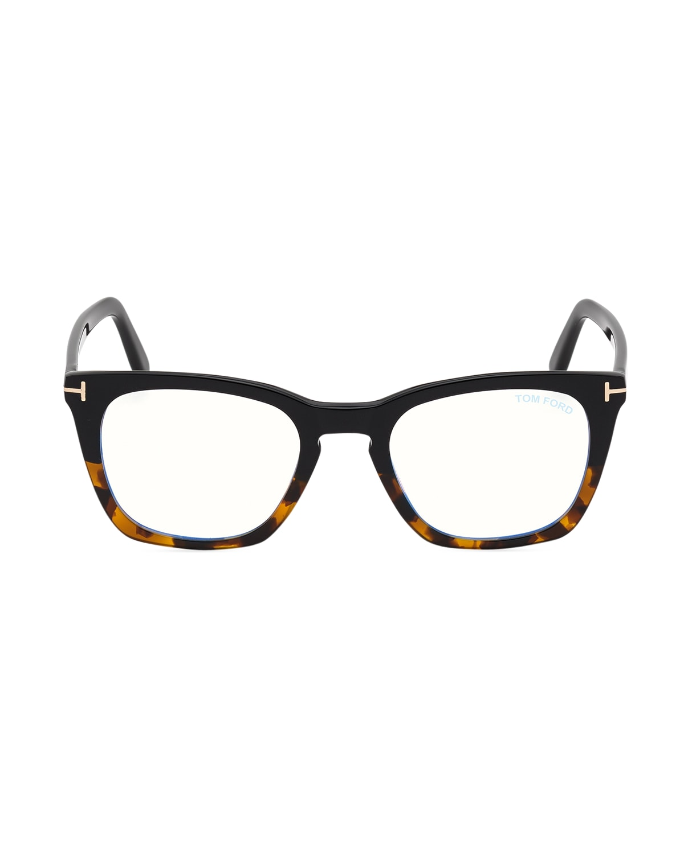 Blue Light Blocking Square Plastic Optical Glasses