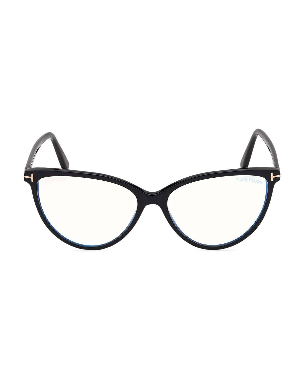 Blue Light Blocking Round Acetate Optical Glasses