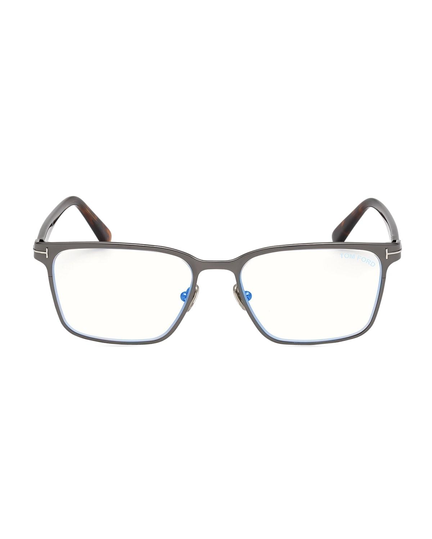 Men's Ft5733 Blue-Block Optical Frames