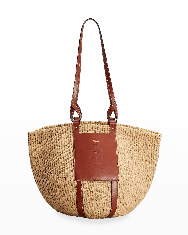 Basket Shopper Tote Bag