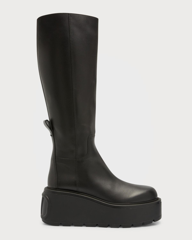VLOGO Unique Form Tall Platform Boots