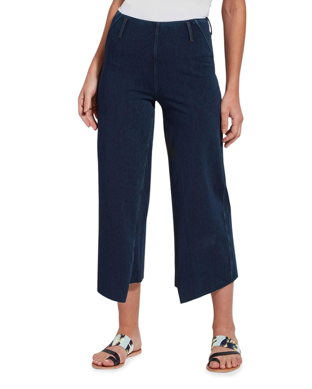 Yuri Cropped Denim Jeans
