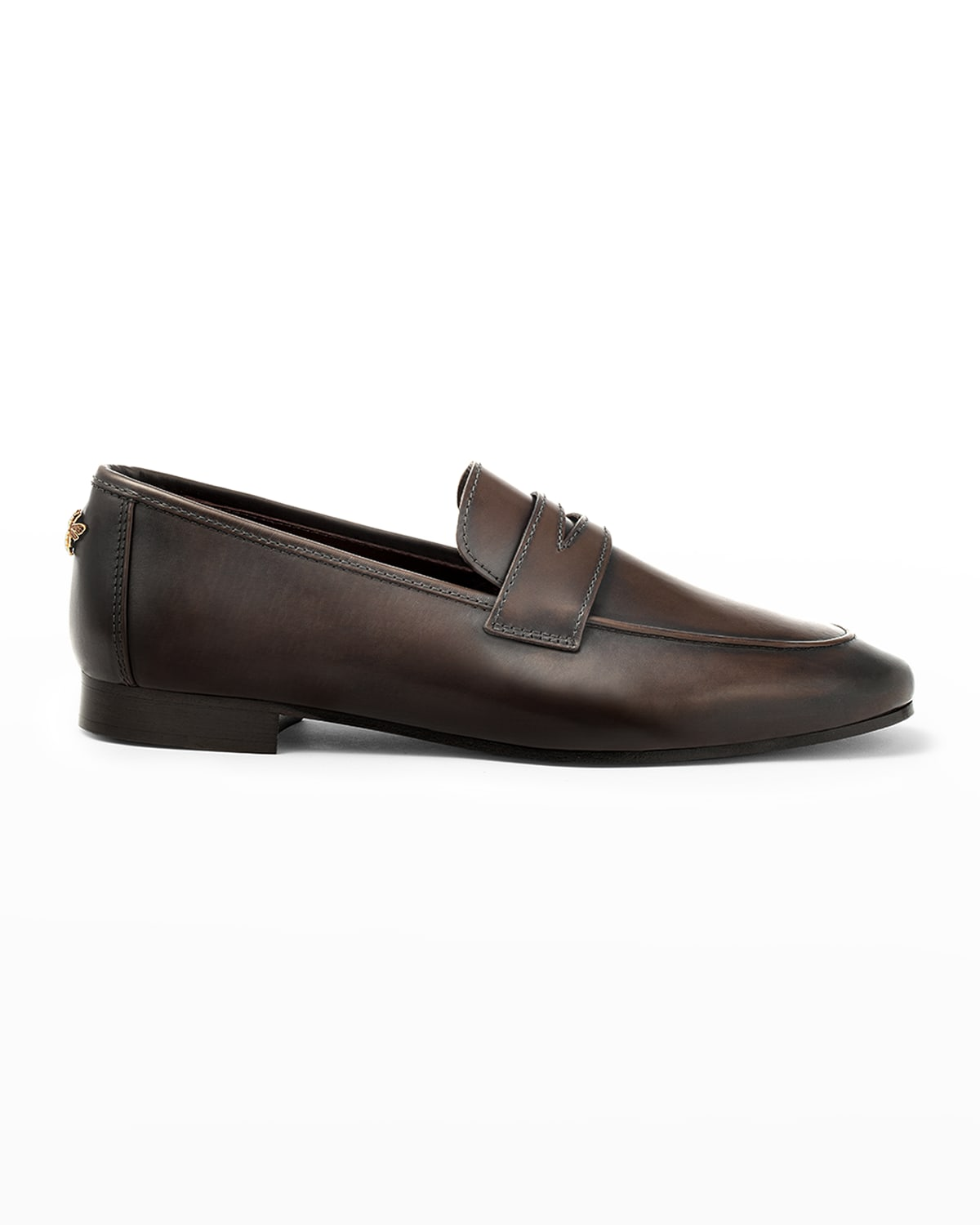 Calfskin Leather Penny Loafers