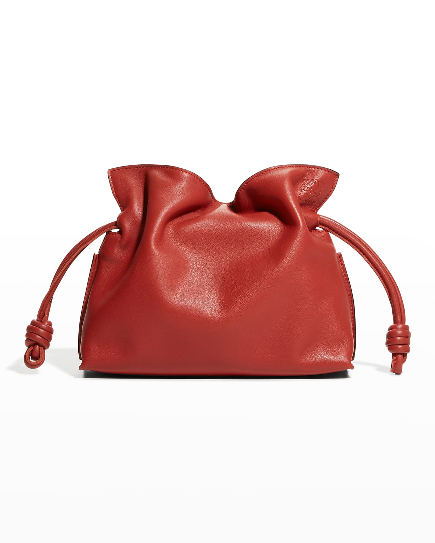 Flamenco Mini Napa Drawstring Clutch Bag