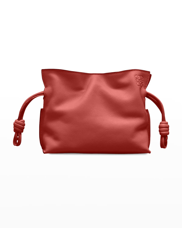 Flamenco Nano Leather Clutch Bag