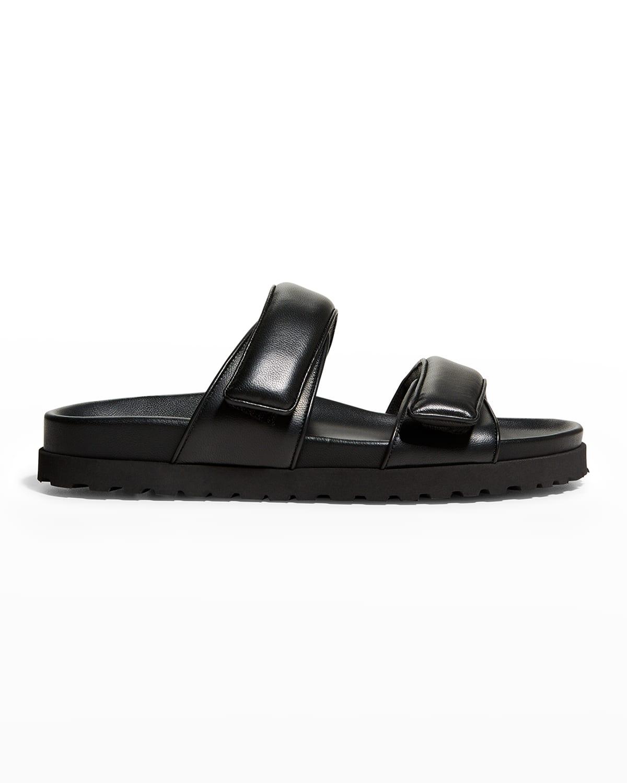 Lambskin Dual-Grip Sporty Sandals