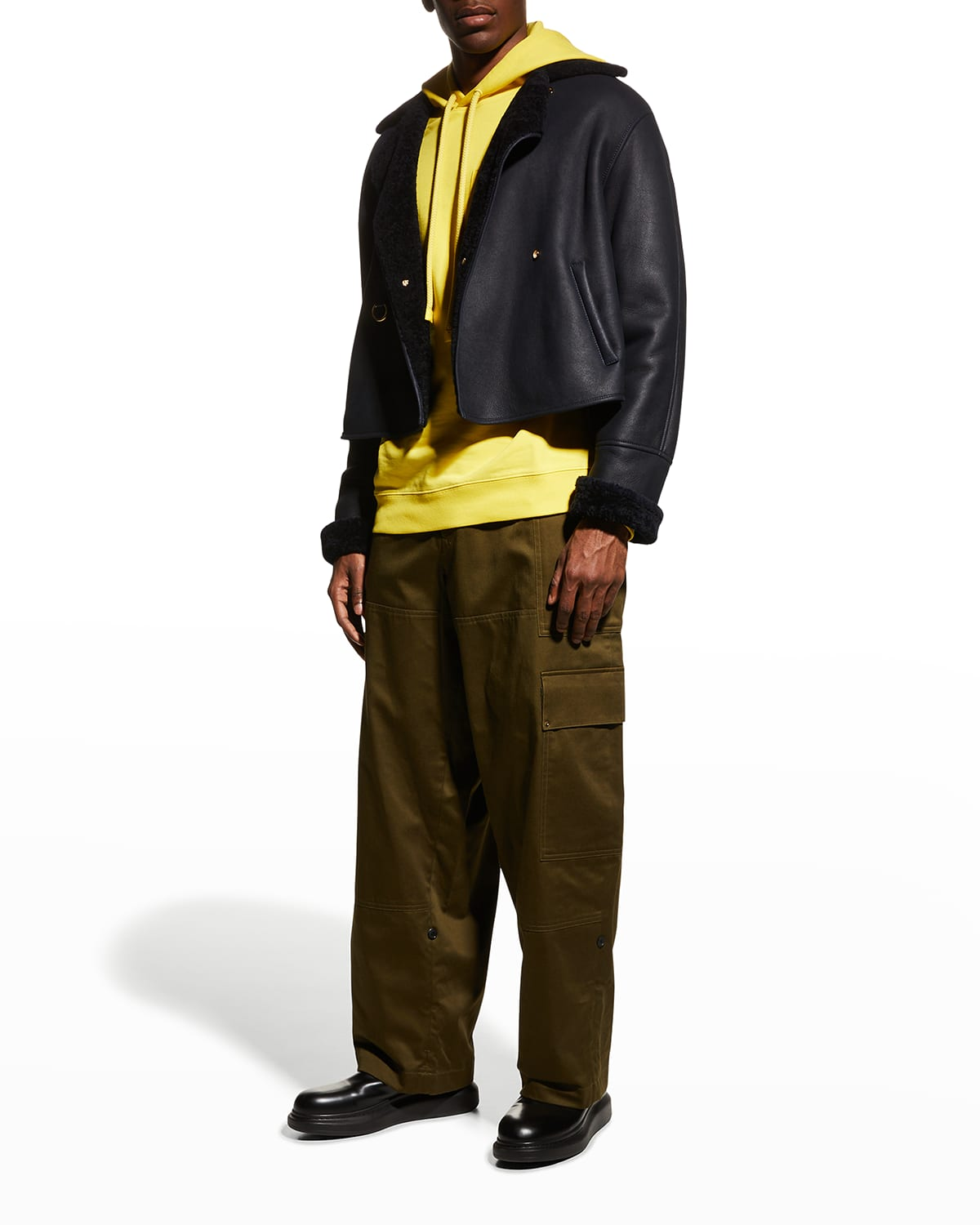 Men's Relaxed Cargo Trousers
