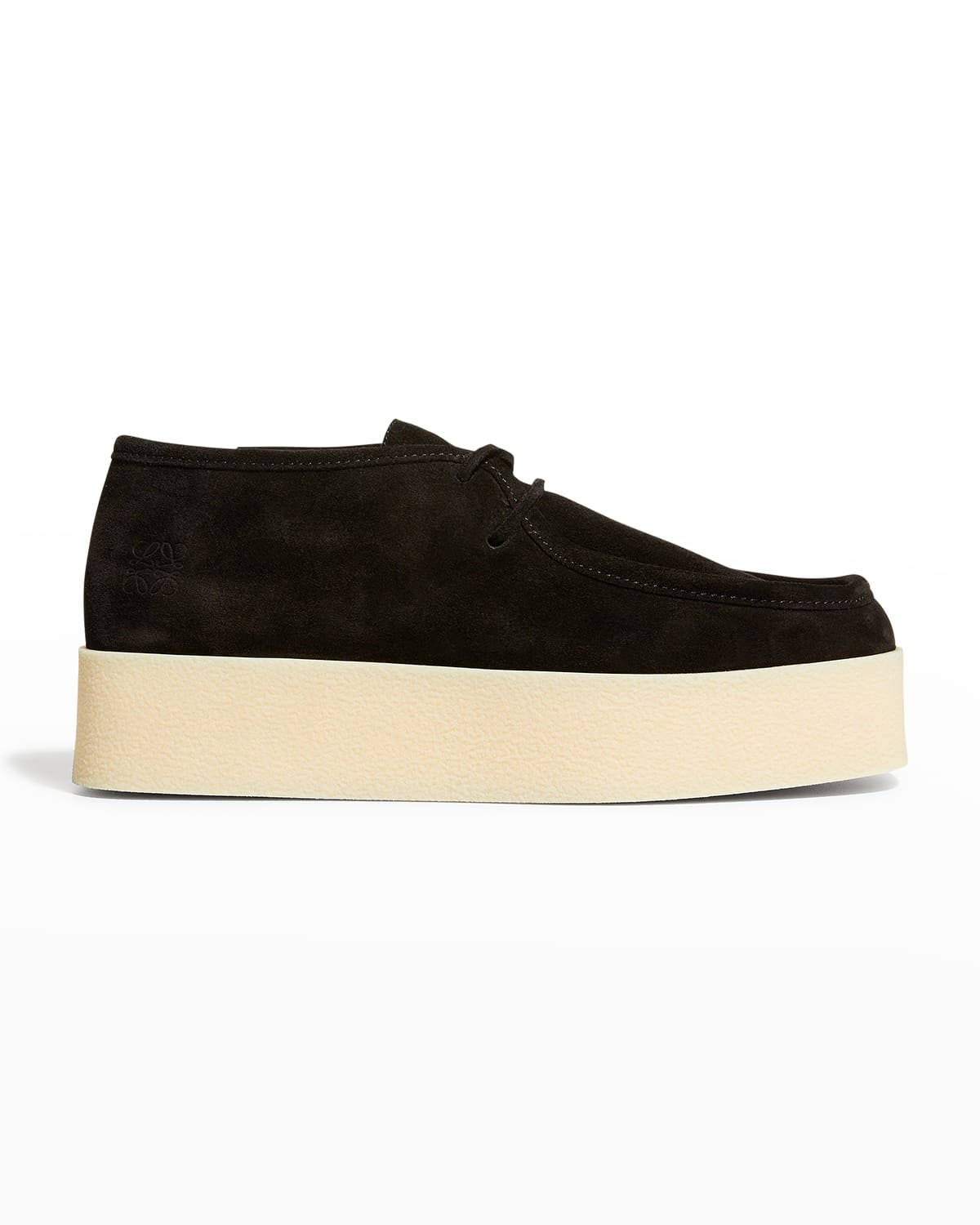 Men's Wedge Moccasin Lace-Ups