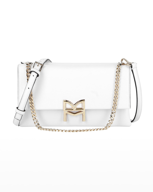 Concertina Double Flap Crossbody Bag