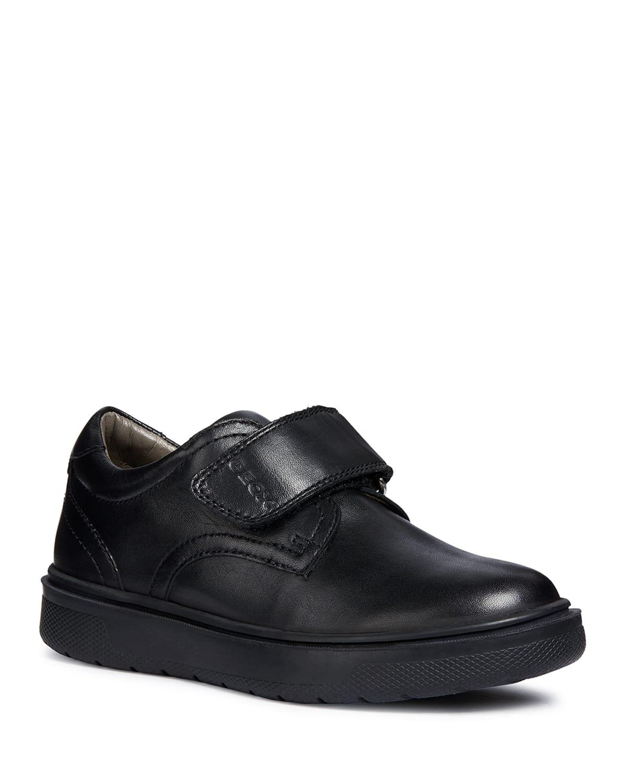 Boy's Riddock Leather Grip-Strap Sneakers