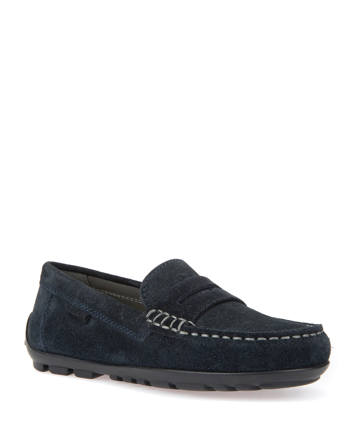 Boy's New Fast Suede Penny Loafers