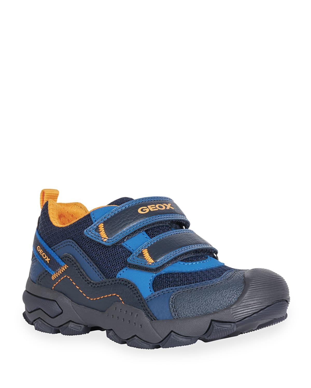 Boy's Buller Grip-Strap Hiking Sneakers