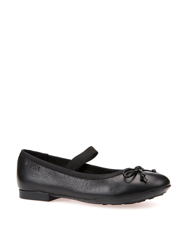 Girl's Plie Bow Napa Ballerina Flats