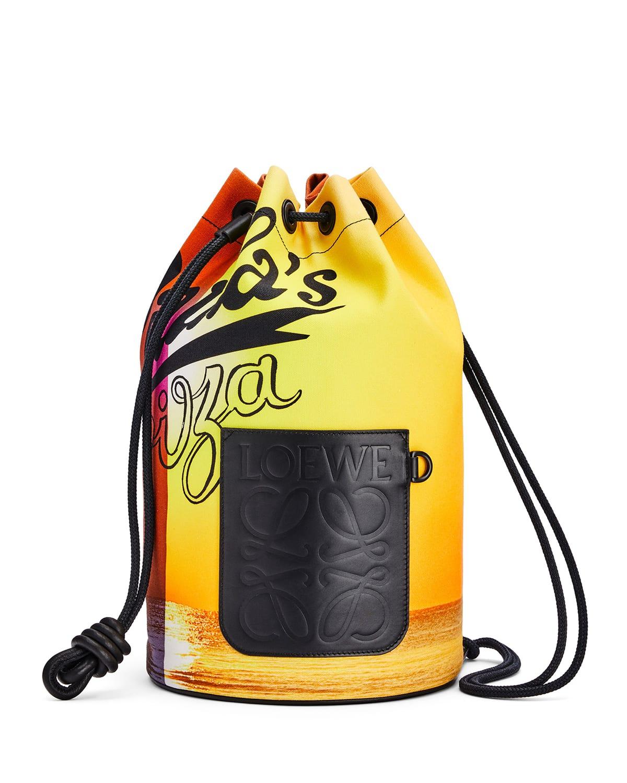 Men's x Paula's Ibiza Large Sailor Sunset Bucket Bag