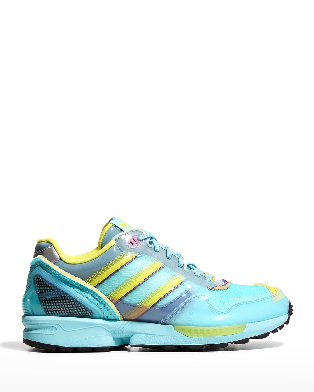Men's XZ 0006 Caged Multicolor Trainer Sneakers