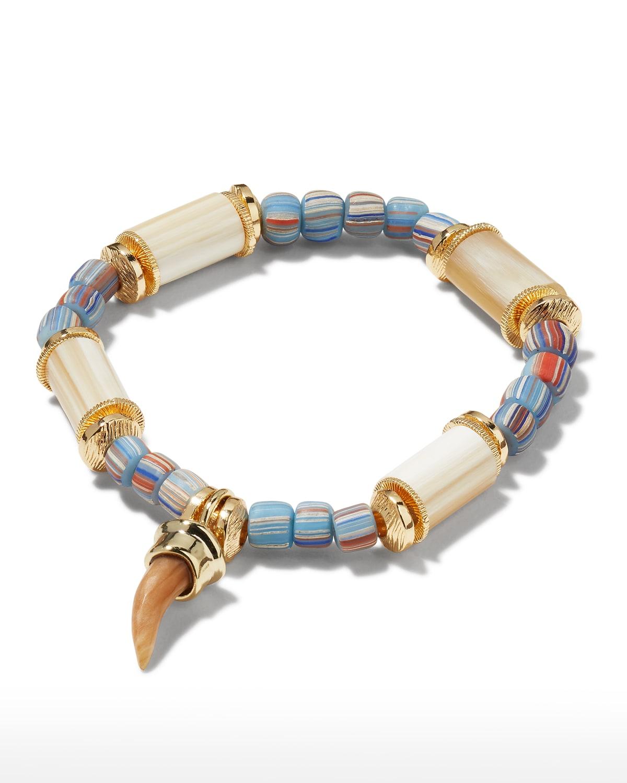 Yarrow Horn Spear Charm Bracelet