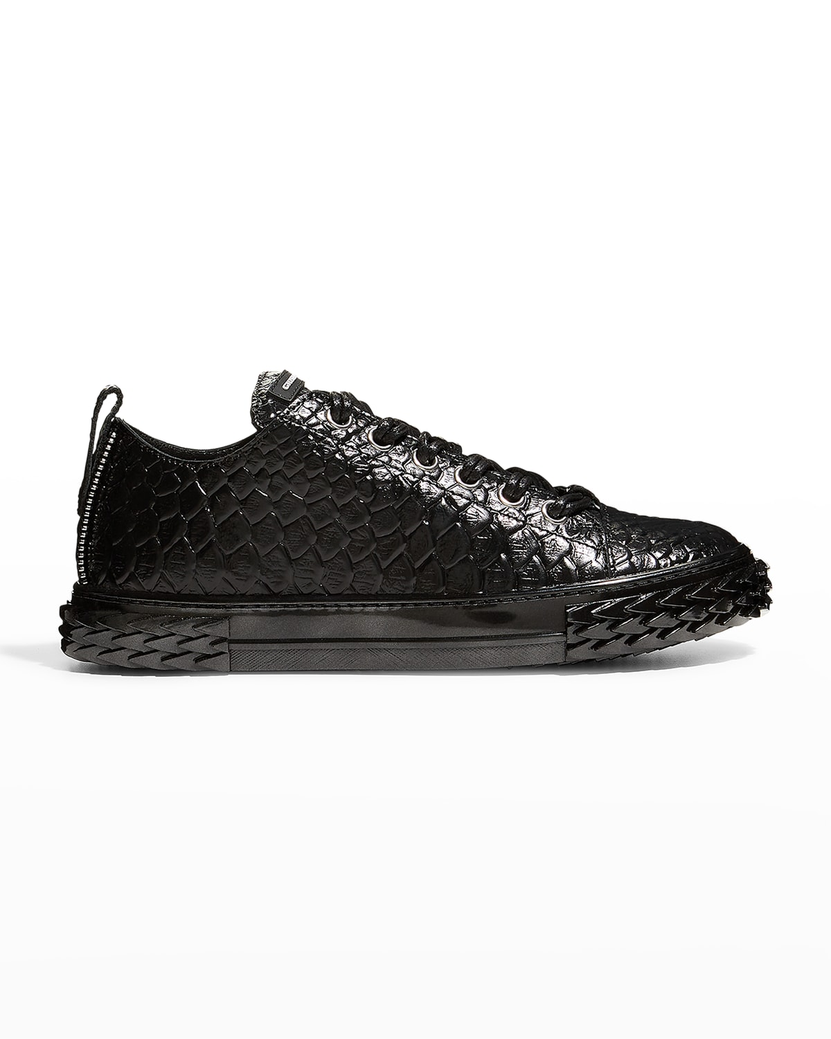 Men's Granch Blabber Patent Scales Low-Top Sneakers