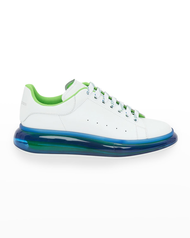 Men's Larry Transparent-Sole Platform Sneakers