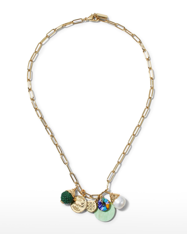 Octavia Charm Necklace