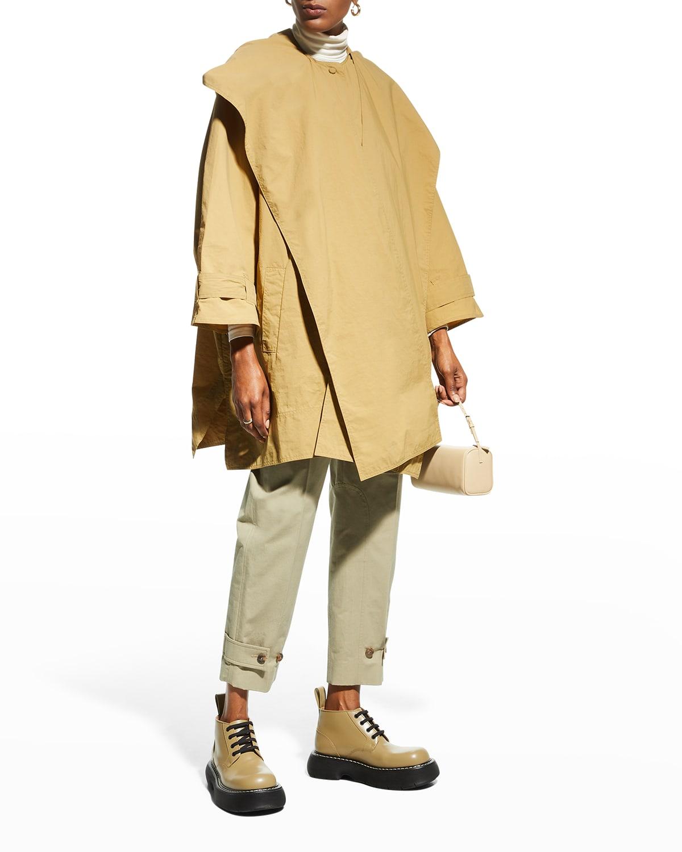 Kaura Oversized Poncho Coat