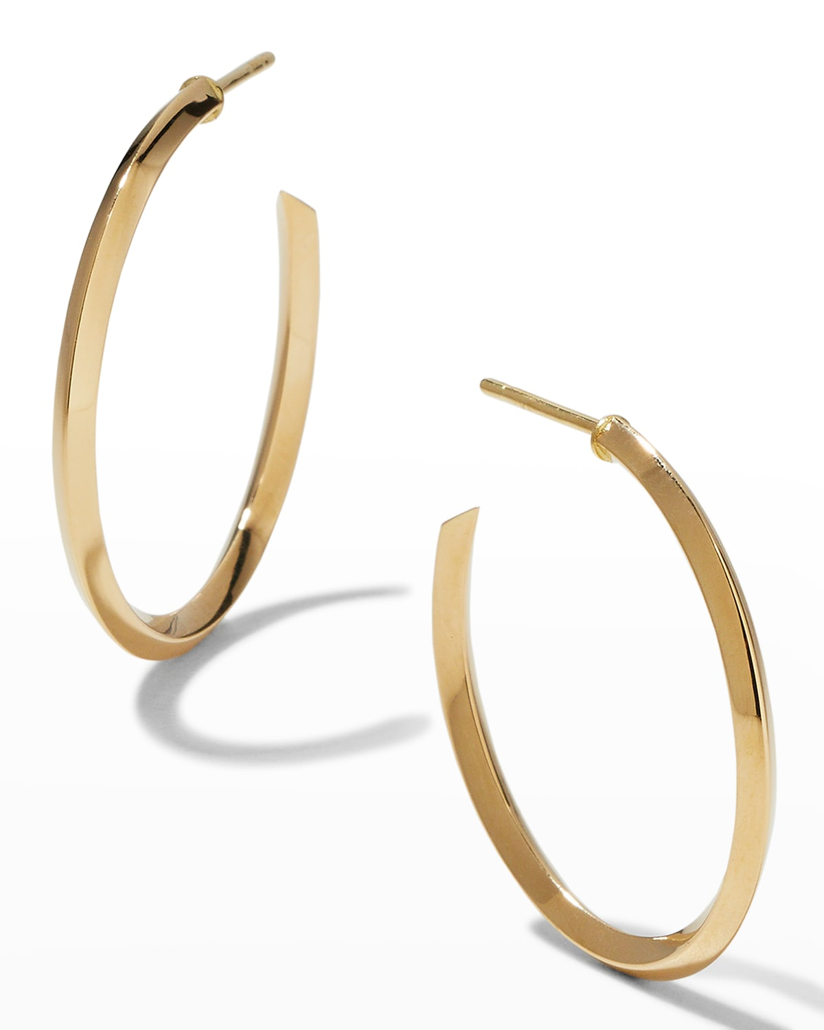 Thin 25mm Royale Hoops
