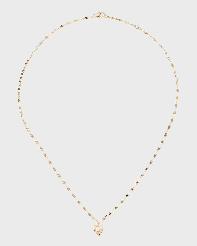 Solo Mini Heart Pendant Necklace