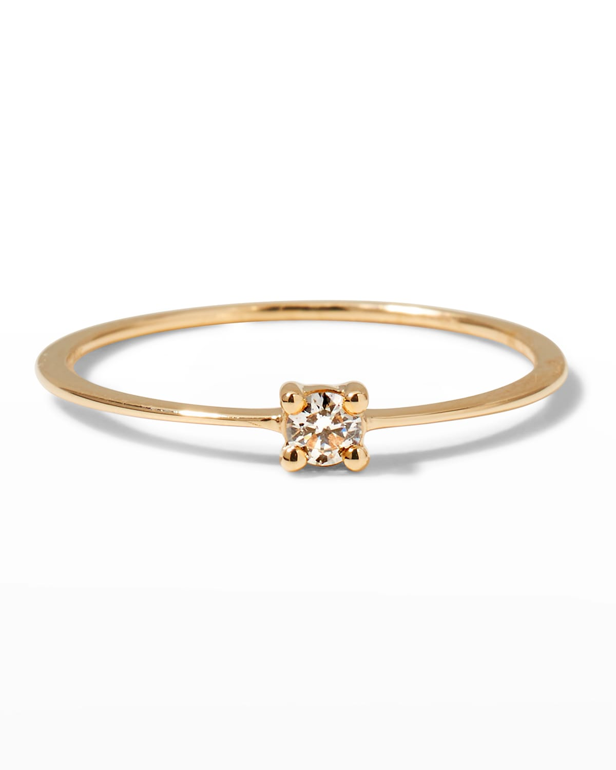 Skinny Flat Band Solo Ring