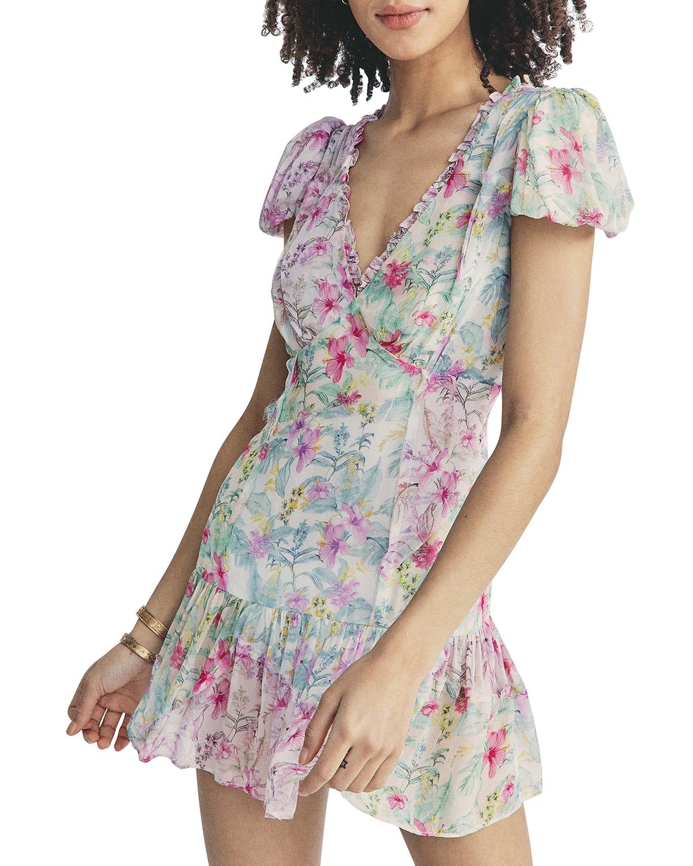 Russ Fit-&-Flare Mini Dress